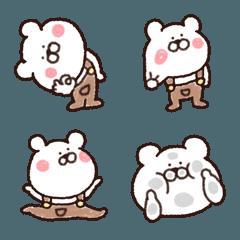 クマ好きへ♥ほっこり癒し絵文字♥