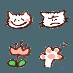 トラ猫のたまとら 絵文字