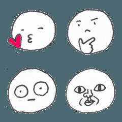 シンプル手描き絵文字