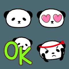 大人かわいいパンダの絵文字 panda emoji 2