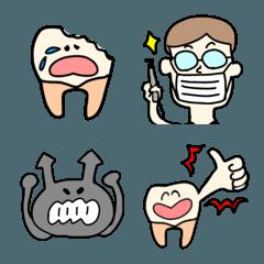 歯とばいきんの絵文字