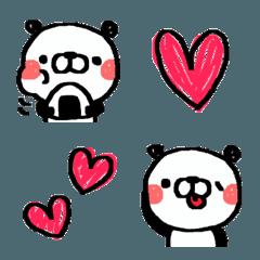 かわいいパンダちゃんの絵文字