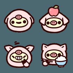 The Emoji of Chinese Zodiac Pig