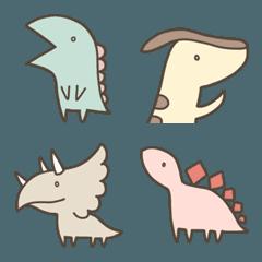 恐竜のいる毎日~絵文字