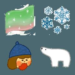 季節の絵文字《冬》