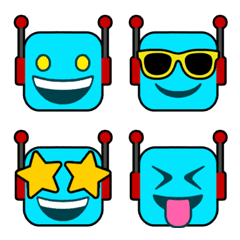 ROBOT :)絵文字