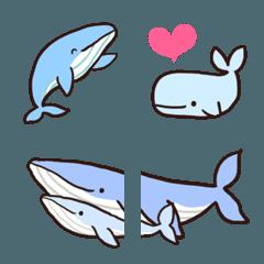 可愛いクジラの絵文字