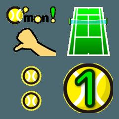 テニス業務連絡用絵文字