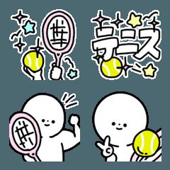 絵文字◎テニス/好き/部活/基本