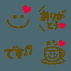 .+*♡大人かわいい♡ゆる文字♡*+.