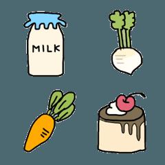 食べ物の絵文字 3