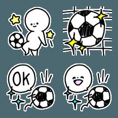 絵文字◎サッカー/好き/部活/基本
