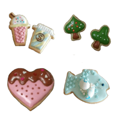 リアルアイシングクッキー絵文字