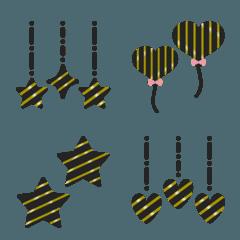 シンプル 黒 絵文字 2