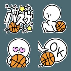 絵文字◎バスケットボール/バスケ/部活