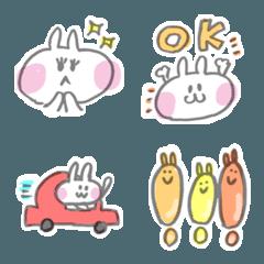 使えるウサギの可愛い絵文字