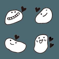 笑顔スマイル&ハート。シンプル絵文字2