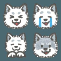 【毎日使える】犬のコタロー【絵文字】