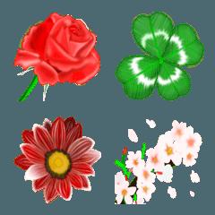 幸運の花絵文字