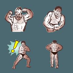 筋肉~!!