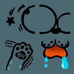 大きな顔の猫-発現サプリメントパック1