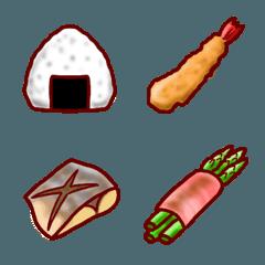 お弁当の具  絵文字
