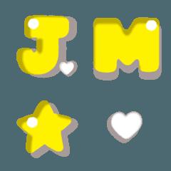 Hato Hati Emoji - Alphabet YL