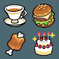 飲み物とお菓子の絵文字