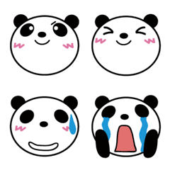 毎日使えるパンダ絵文字