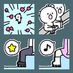 絵文字◎フィギュアスケート/好き/基本2