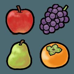 食べ物 絵文字 《 はらぺこフルーツ 》