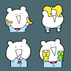 シュールなクマの絵文字