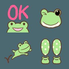 可愛いカエルの絵文字