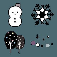 冬の絵文字
