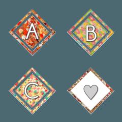和柄絵文字(Japanese Style Emoji)