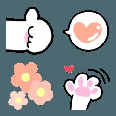 猫と肉球❤️見やすい顔文字