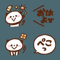 ボールペンぱんだ*5【ふきだしセット②】