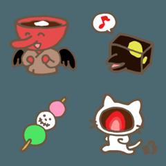 和菓子妖怪の絵文字