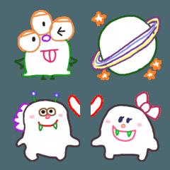 らくがきモンスター(絵文字)