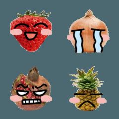 フルーツと野菜の気持ち 絵文字 2