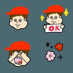 pocaママ☆赤い帽子かぶった子