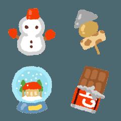 冬に使える基本絵文字