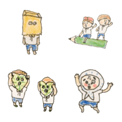 pocaママ☆色鉛筆の子どもたち 第1弾
