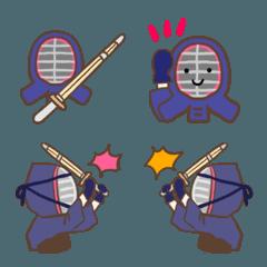 シンプルな剣道の絵文字