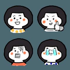 基本の女の子絵文字