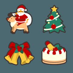 毎年使えるクリスマス絵文字