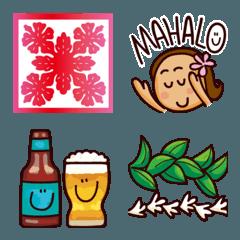 ミリラニ ハワイアン絵文字 Ver.2