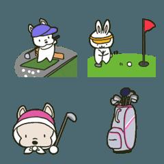 ゴルフ 絵文字