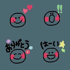 手書き絵文字⁑⁑ゆるかわ