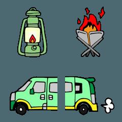 キャンプの絵文字